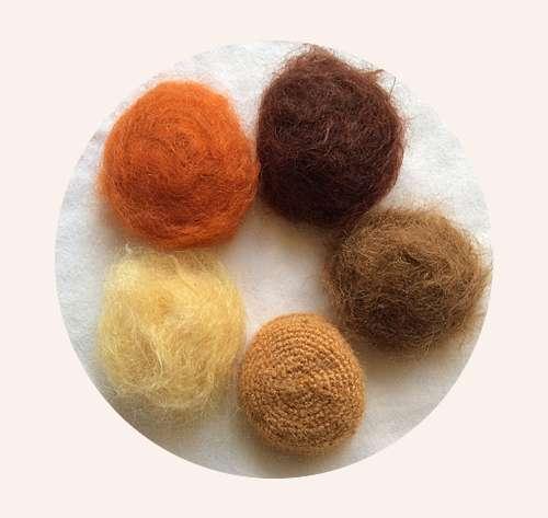 Die Haare – die ausgebürstete Mohairperücke