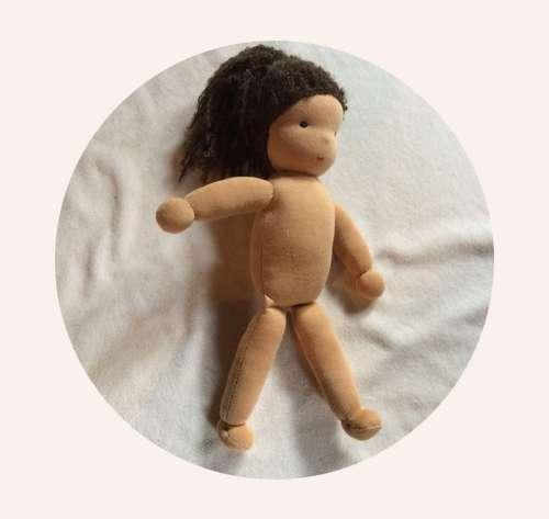 Hurra, die Puppe ist fertig
