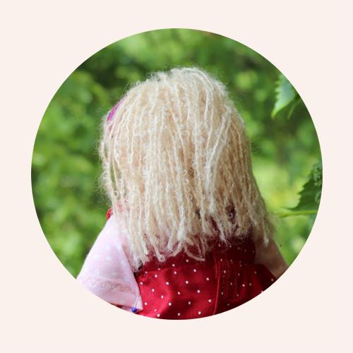Die Haare- eine Langhaarfrisur